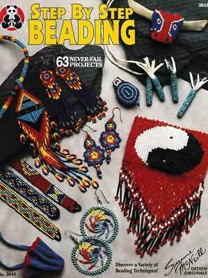 Beading Pattern Leaflet Step By Step Beading Peyote& Brick Stitch & Loom Beading