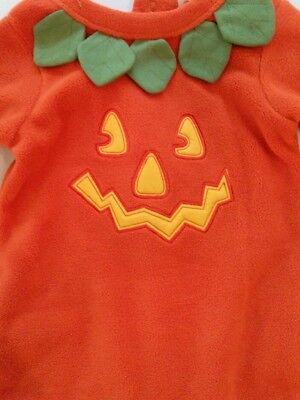 Halloween Costume for Baby Oshkosh Pumpkin 2 Piece Set Creeper w/ Matching Cap](Creeper Costumes For Halloween)