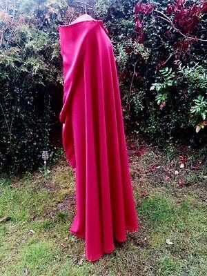 Rotkäppchen Umhang mit spitzer Kapuze rot Cape Fasching - Roter Umhang Kostüme