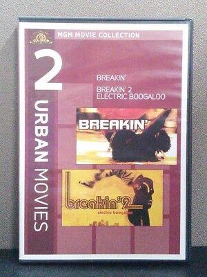 Breakin / Breakin 2: Electric Boogaloo      (DVD)       LIKE NEW