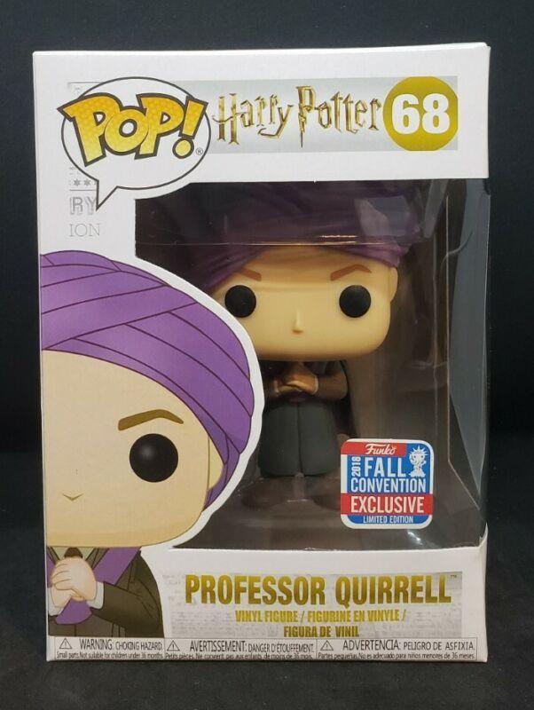 NEUVE Figurine FUNKO POP 68 HARRY POTTER Professor QUIRRELL Figure