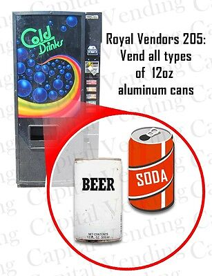 Royal Vendors Model 205 Sodacold Drink Vending Machine