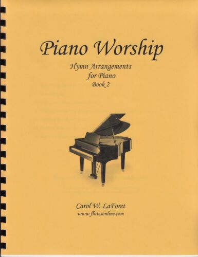 Church Hymn Arrangements for Piano WORSHIP Pieces Sheet Music Solo Offertory #2