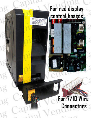 New American Changer Rear Load Yellow Hopper For Red Display Control Boards-rear