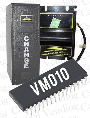 Dollar Bill Acceptance 1 - 20 Eprom Chip For Vm010 Change Time Coin Changers
