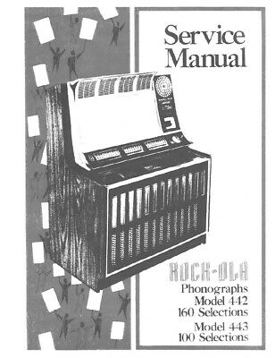 ROCK-OLA MODEL 1438 SERVICE MANUAL .PDF FILE 35 PAGES