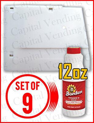 12oz Plastic Milk Bottle Spacers For Dixie Narco 5591 Vending Machine