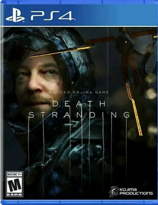 Death Stranding (PS4, 2019) Brand New Factory Sealed
