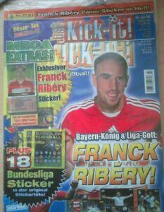 Panini Bundesliga Sondersticker Frank Ribery 2007/2008 OVP!!!