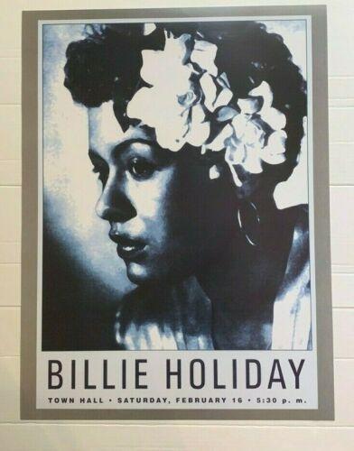 Billie Holiday Jazz Vintage Print Music 18X24 Classic Art New Poster