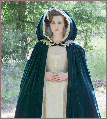 M7886 Nähen Muster Kostüm Gefüttert Gesammelt auf Ausschnitt Cape (Kostüme Renaissance Muster)