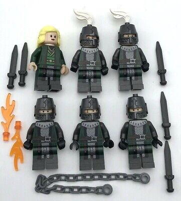 Lego 6 New Frightening Knights Castle Minifigures with Queen Swords Chain More