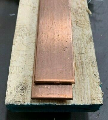 Copper Flat Bar Stock 18 X 1 X 6- Knife Making C110