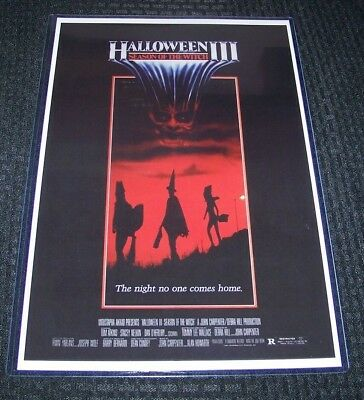 Halloween III 3 11X17 Movie Poster Original Version Tom Atkins - Halloween Origins Movie