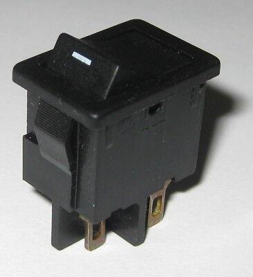 Marquardt 1852 Miniature Panel Mount Rocker Switch - Dpst - 125v 6a - 250v 4a