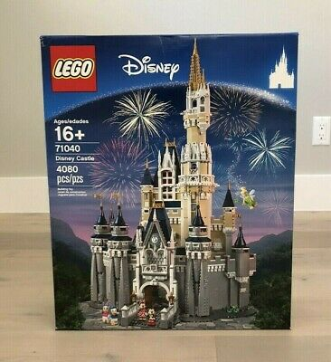 NIB LEGO 71040 Walt Disney World Cinderella Castle -Mickey Mouse -FACTORY SEALED