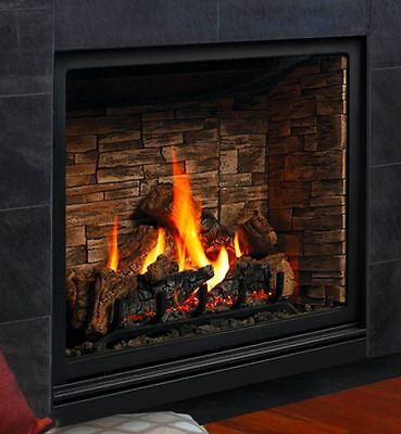 Kingsman ZCV39H Bentley Direct Vent Gas Fireplace Classic Style Zero Clearance ()