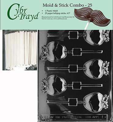apple lolly chocolate mold w instructions free