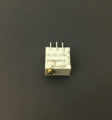 Beck 68wr100 100 Ohm .5w Multi-turn Cermet Trimmer Potentiometer