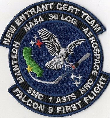 Orig 1Asts  Spacex   Pad Abort   Ab Satellite Mission Launch Patch Set  37Pcs