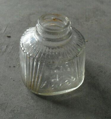 Vintage Glass Ink Empty Glass Bottle Parker 2 Oz for sale  Thorndale