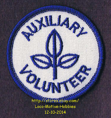 LMH PATCH Badge AUXILIARY VOLUNTEER Medical Center HOSPITAL Junior Leaf Logo