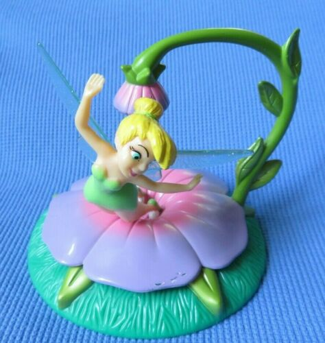 Disney TINKERBELL FAIRY  DANGLE cake topper FIGURE