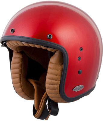 Scorpion BELFAST Open-Face Motorcycle Helmet (Candy Red) Choose Size ()