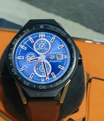 Tag Heuer Connected 45 Kingsman Edition Swiss made Smartwatch full SET Excellent