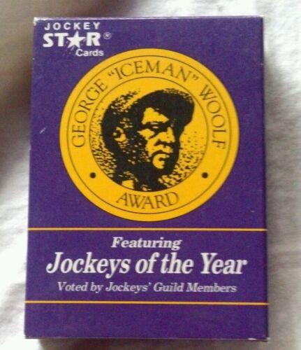 JOCKEY STAR FACTORY SEALED SET - Jockeys of the Year George Woolf Memorial