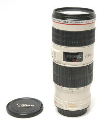 Canon Zoom Lens EF 70-200mm 1:4 L IS USM - Used Excellent Condition Clean