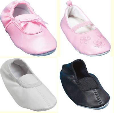 Playshoes Ballerina Gymnastik Ballett Hausschuhe Sport Schuhe Kinder Gr. 20 - 33 (Haus Hausschuhe Sport)