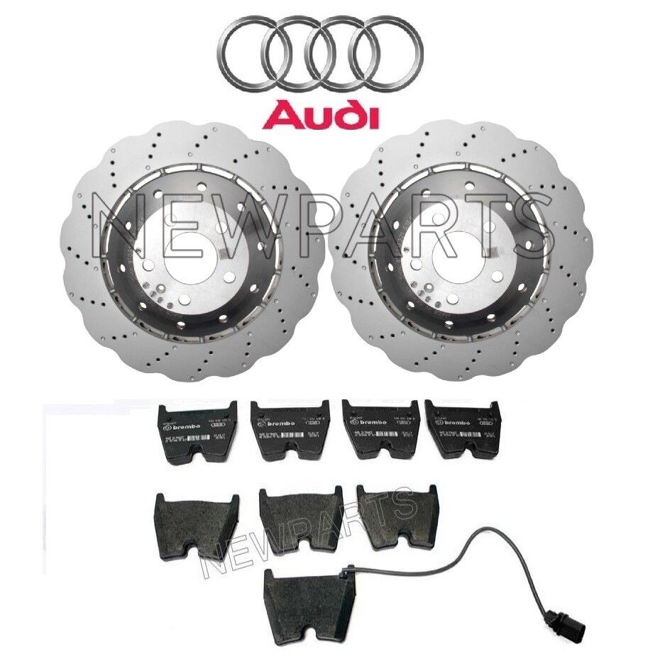 For Audi R8 RS4 RS6 Front Brake Pads With Integrated Wear Sensor Pagid 355009191