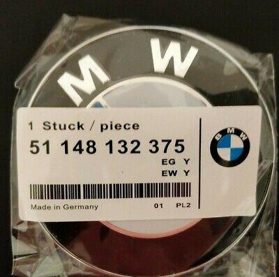 E90 E60 E30 E46 E36 82mm Emblem Front Hood for BMW Replacement Roundel Logo 2PIN