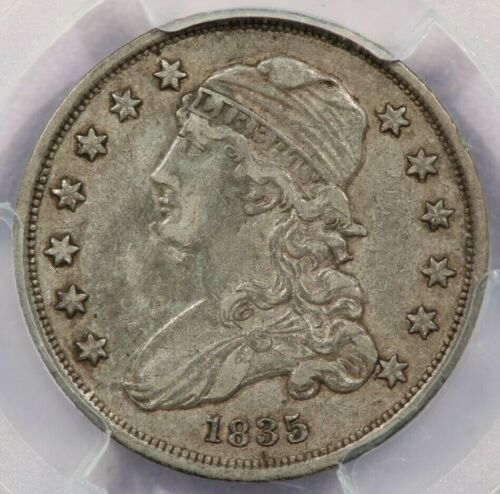 1835 Capped Bust Quarter PCGS XF45