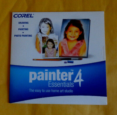 Corel Painter Essentials 4 (Win/Mac)  (New ! sealed cd +Key Code) OEM, used for sale  Patterson