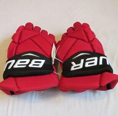 Used Brian Boyle Bauer Vapor 1X Pro Stock NJ Devils 15