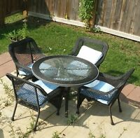 Wicker Patio Table and Chair set