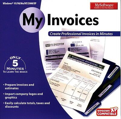 MySoftWare My Invoices My Software Brand New Sealed Fast Shipping - My invoices software