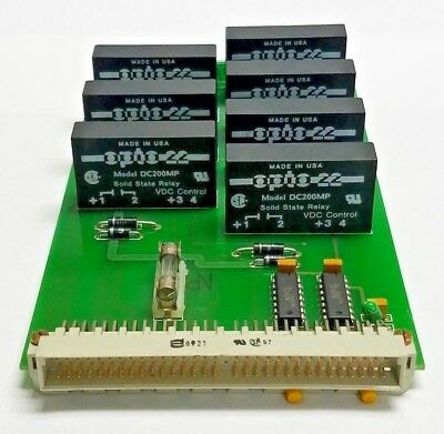 Wohlenberg 3115.40.8038-01 Pk Relay Board For Mcs 2tv