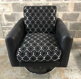 DFS Swivel accent chair