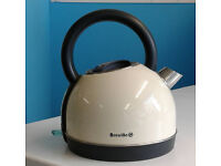 Vanilla cream breville traditional electric kettle graded with 12 month warranty can be delivered