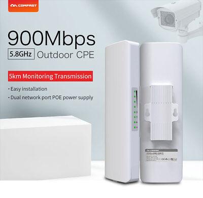 5KM 900Mbps 5.8G WiFi Router Outdoor Access Point CPE Bridge Wireless AP Scenic  segunda mano  Embacar hacia Argentina