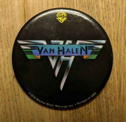 Van Halen 1978 Original Tour Button - Collector