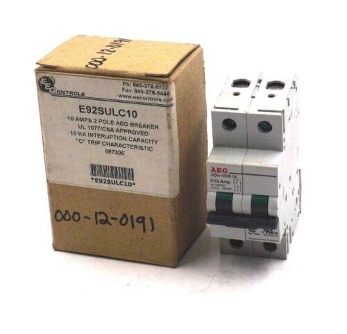 New EEC Controls E92SULC10 AEG Breaker