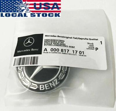 NEW Mercedes Benz C-Class C300 E400 Gloss Front Grille Star Badge Emblem