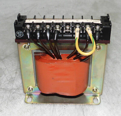 Gomi Electric Transformer, Type# T-1, Cap 800 VA, 1 Ph, 240 to 100V, Used