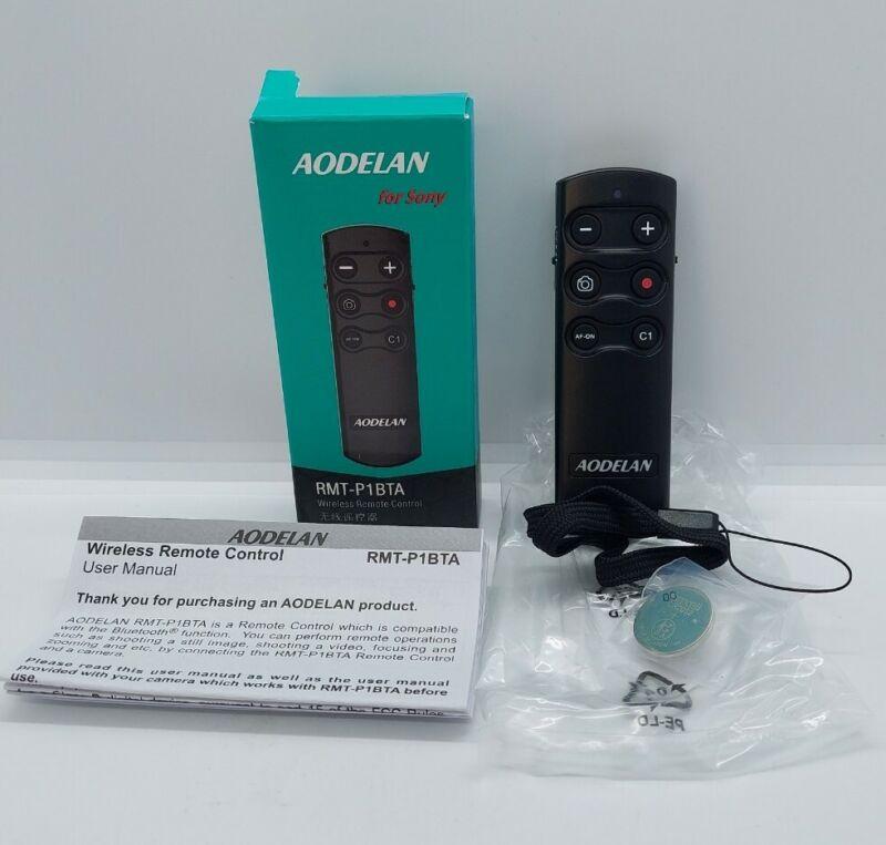 AODELAN Camera Remote Control Remote Shutter Commander for Sony a6100, a6400,...