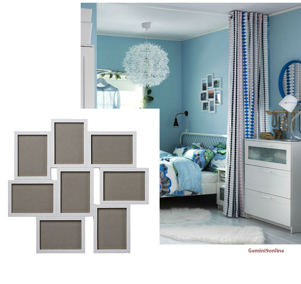 65971386a18 IKEA Picture Frame for 8 Photos VAXBO Collage 5x7