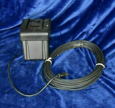 Malibu 125 Volts 200 Watt Low Voltage Transformer And Low Voltage Cable..